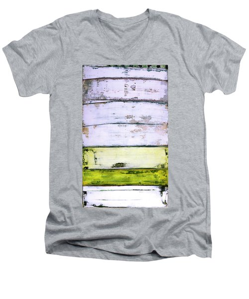 Art Print Abstract 11 Men's V-Neck T-Shirt