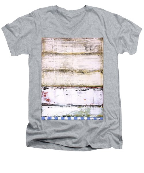 Art Print Abstract 25 Men's V-Neck T-Shirt