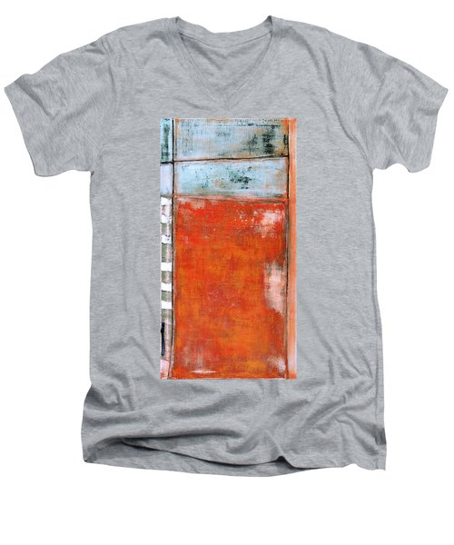 Art Print Abstract 8 Men's V-Neck T-Shirt