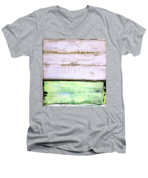 Art Print Abstract 87 Men's V-Neck T-Shirt