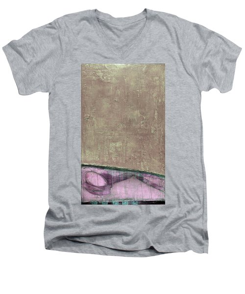 Art Print Abstract 94 Men's V-Neck T-Shirt