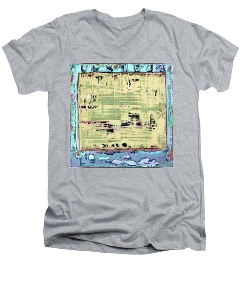 Art Print California 01 Men's V-Neck T-Shirt