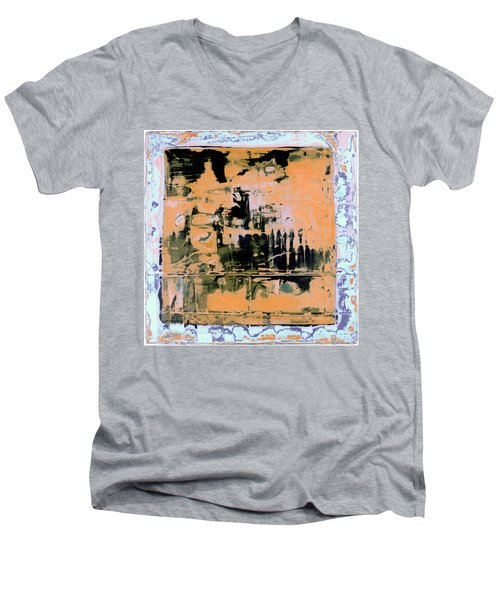 Art Print California 07 Men's V-Neck T-Shirt