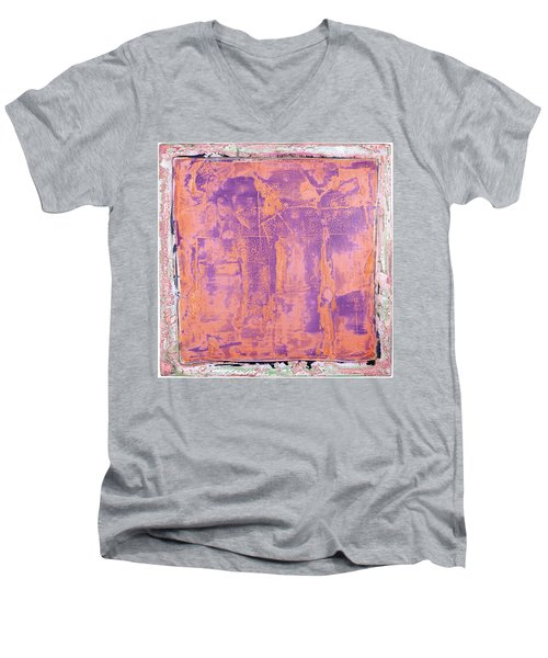 Art Print California 09 Men's V-Neck T-Shirt