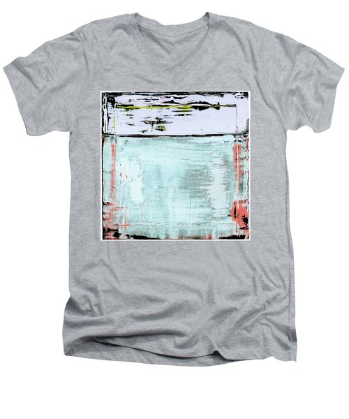 Art Print California 10 Men's V-Neck T-Shirt