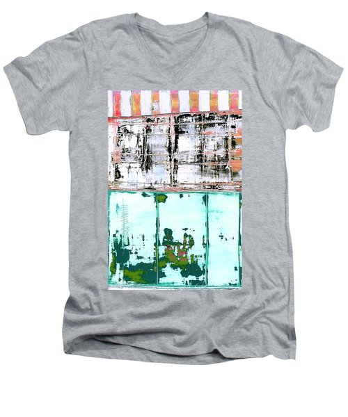 Art Print Carneval Men's V-Neck T-Shirt