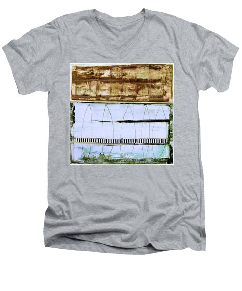 Art Print Malibu Men's V-Neck T-Shirt