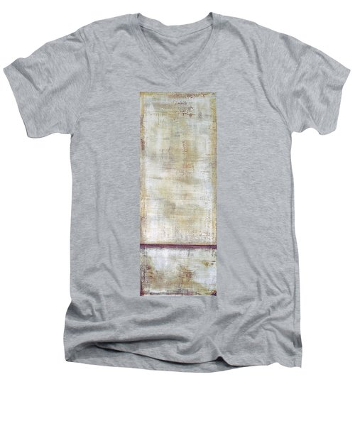 Art Print Whitewall 1 Men's V-Neck T-Shirt