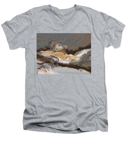 Art Rupestre Men's V-Neck T-Shirt