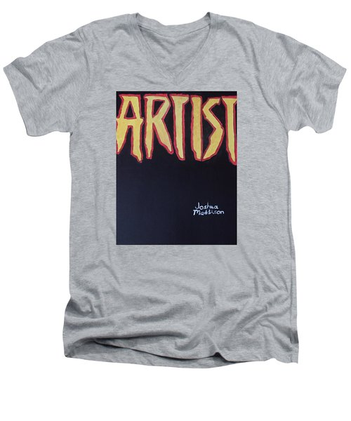 Artist 2009 Movie Men's V-Neck T-Shirt