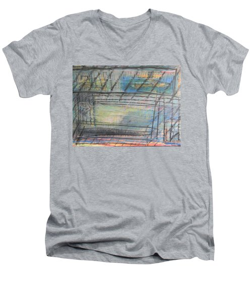 Artists' Cemetery Men's V-Neck T-Shirt