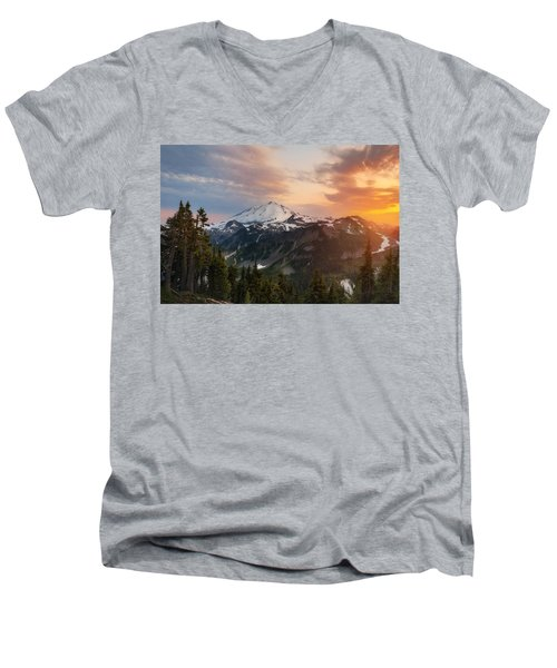 Artist's Inspiration Men's V-Neck T-Shirt by Ryan Manuel