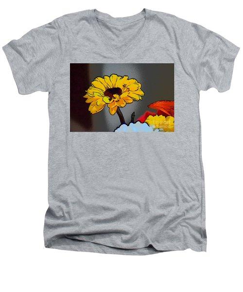 Artsy Sunshine Men's V-Neck T-Shirt