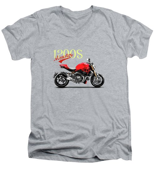 Ducati Monster Men's V-Neck T-Shirt