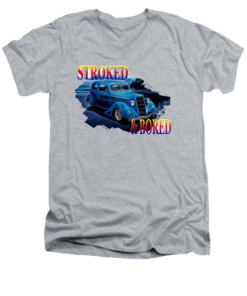 1935 Ford 2-door Sedan Men's V-Neck T-Shirt