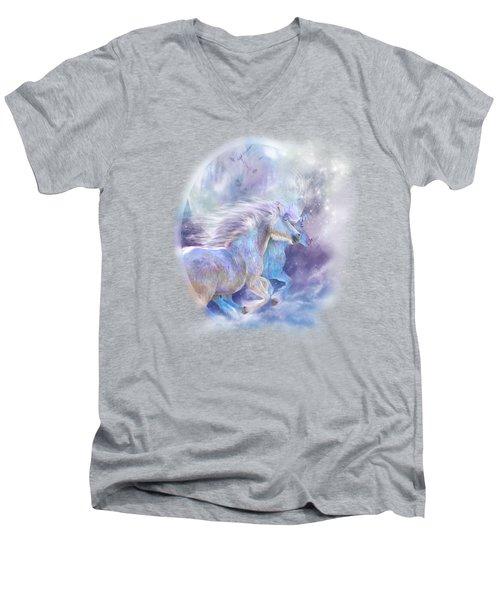 Unicorn Soulmates Men's V-Neck T-Shirt