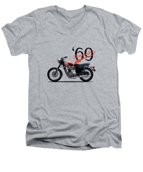 Triumph Bonneville T120 1969 Men's V-Neck T-Shirt