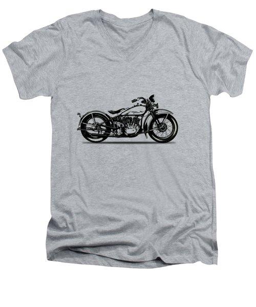 Harley Davidson 1933 Men's V-Neck T-Shirt
