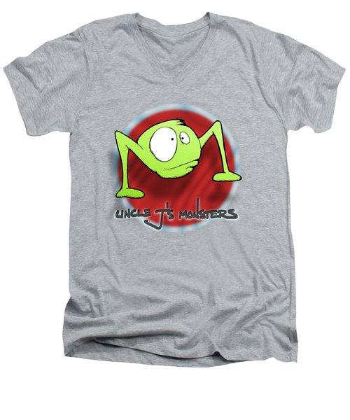 Ramble Men's V-Neck T-Shirt by Uncle J's Monsters