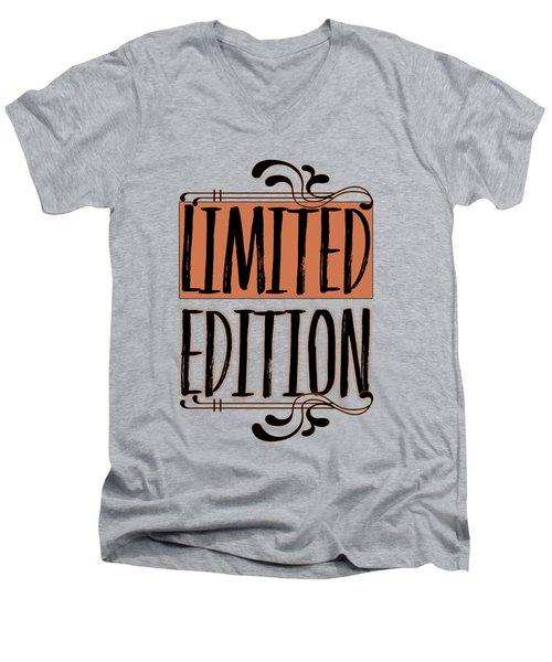 Limited Edition Men's V-Neck T-Shirt by Melanie Viola