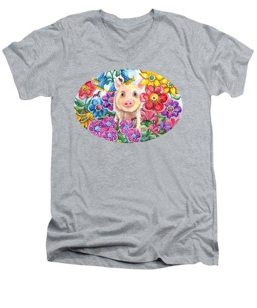 Penelope Men's V-Neck T-Shirt