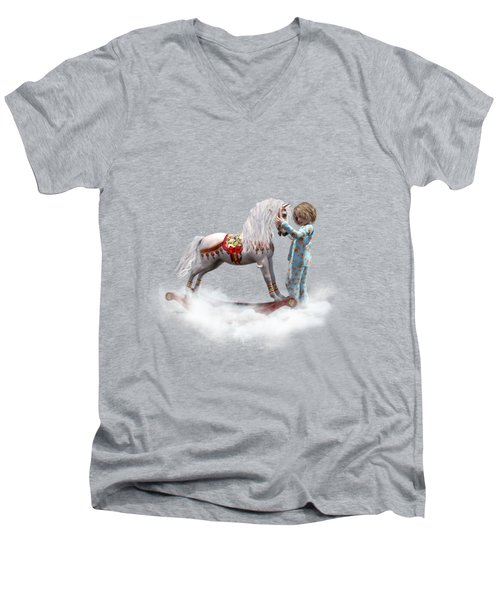 If We Believe Men's V-Neck T-Shirt