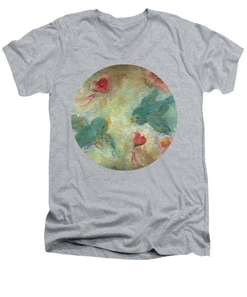 Lovebirds Men's V-Neck T-Shirt