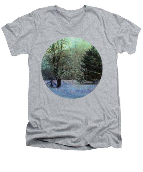 Into The Winter Morning Men's V-Neck T-Shirt