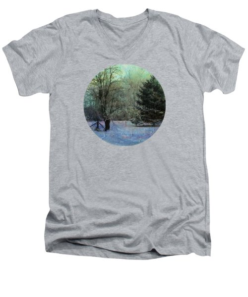 Into The Winter Morning Men's V-Neck T-Shirt