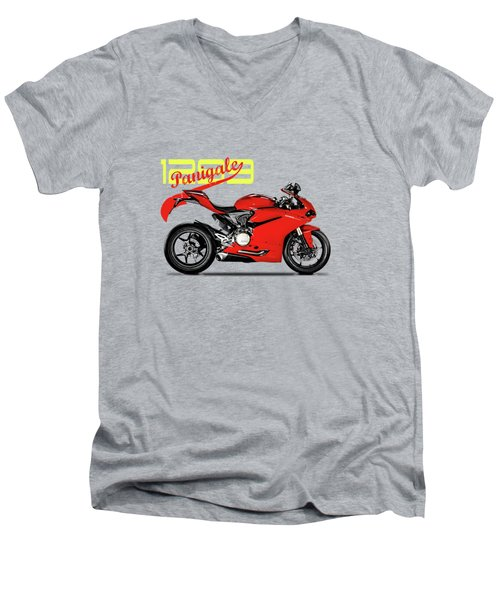 Ducati Panigale 1299 Men's V-Neck T-Shirt