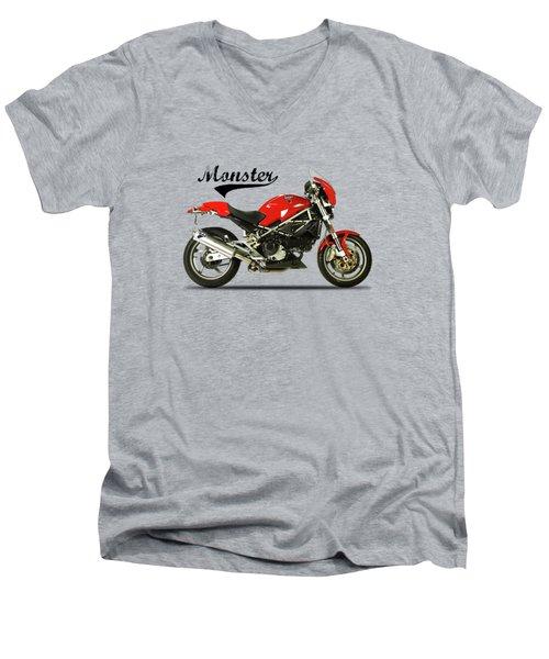Ducati Monster S4 Sps Men's V-Neck T-Shirt