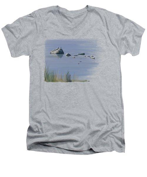 Gull Siesta Men's V-Neck T-Shirt