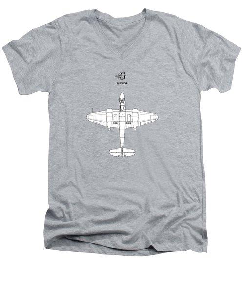 The Gloster Meteor Men's V-Neck T-Shirt