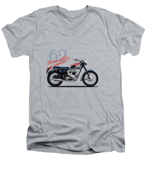 Bonneville T120 1962 Men's V-Neck T-Shirt