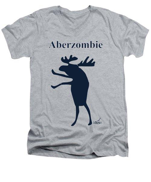 Aberzombie Men's V-Neck T-Shirt