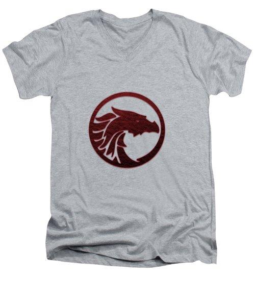 leather Dragon Men's V-Neck T-Shirt