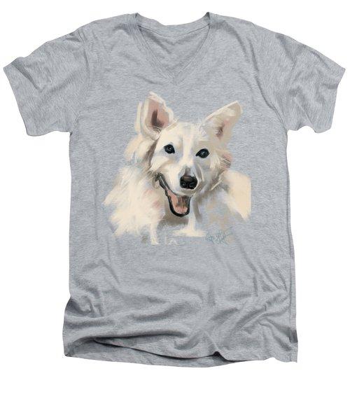 Dog Olaf Men's V-Neck T-Shirt