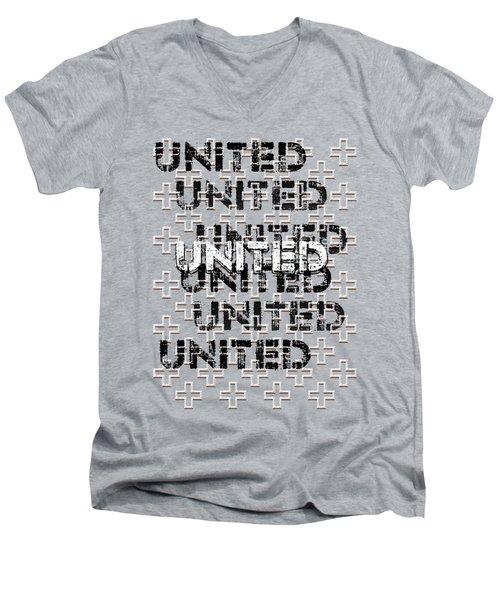 United Men's V-Neck T-Shirt