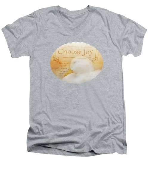 Choose Joy Men's V-Neck T-Shirt