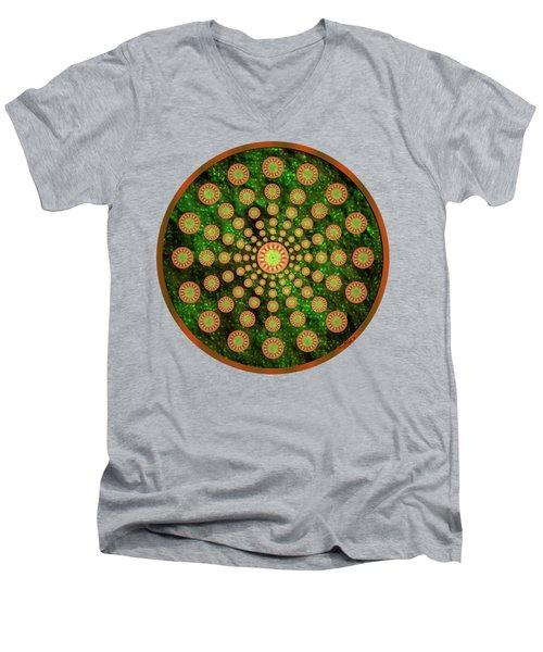 Mandala Radium 1 Men's V-Neck T-Shirt