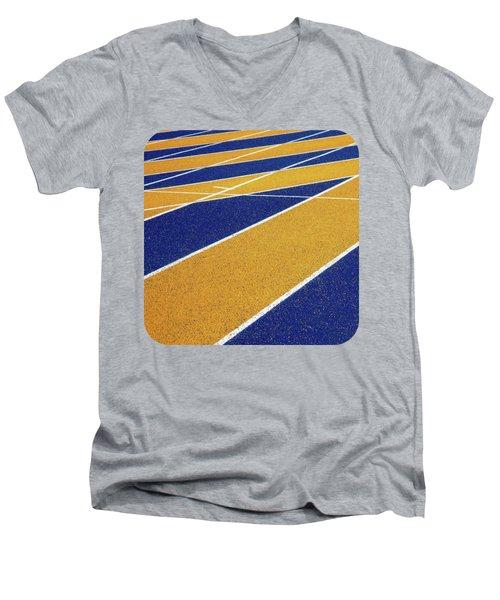 On Track Men's V-Neck T-Shirt