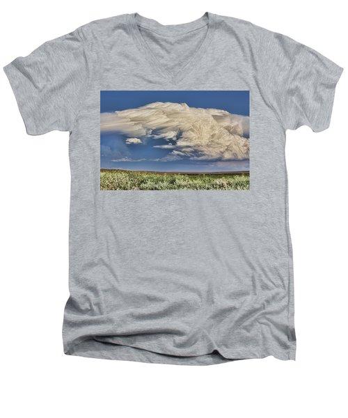 Cloud Brew Men's V-Neck T-Shirt