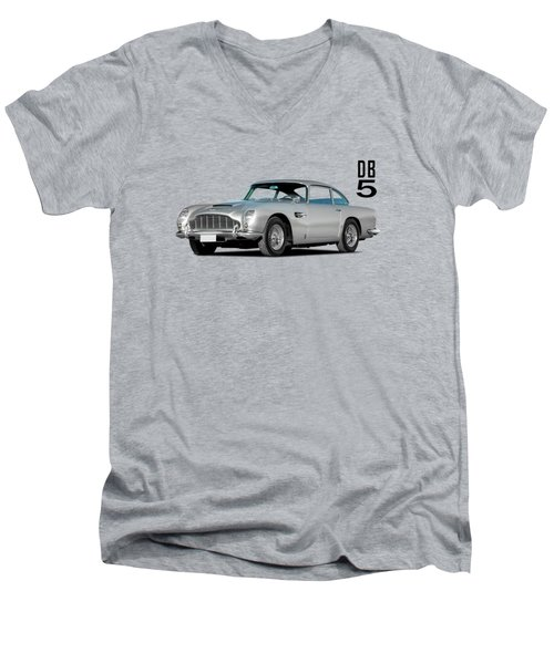 Aston Martin Db5 Men's V-Neck T-Shirt