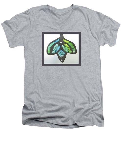 1188 A La Tiffany Men's V-Neck T-Shirt