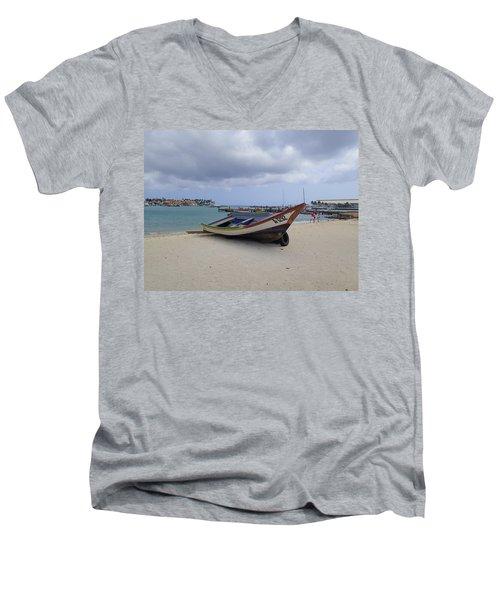 Aruba Beach Men's V-Neck T-Shirt