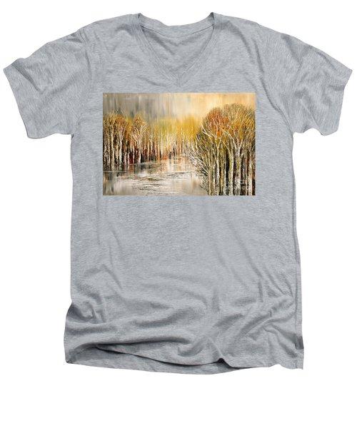 As A Dream Men's V-Neck T-Shirt by Tatiana Iliina