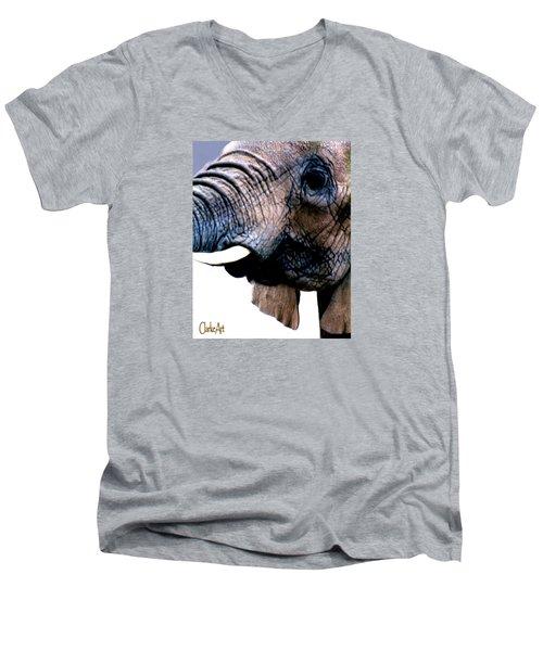 As High As An Elephant's Eye Men's V-Neck T-Shirt