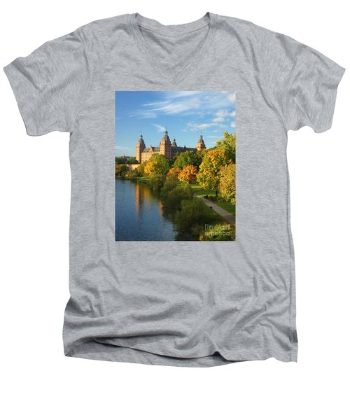 Aschaffenburg Bavaria 1 Men's V-Neck T-Shirt