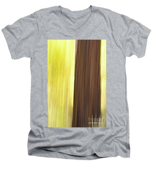 Aspen Blur #4 Men's V-Neck T-Shirt