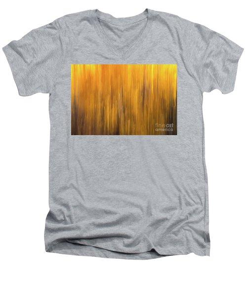 Aspen Blur #5 Men's V-Neck T-Shirt